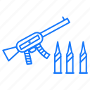 armour, guns, weapons icon