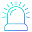 alarm, bell, notification, protection, warning icon