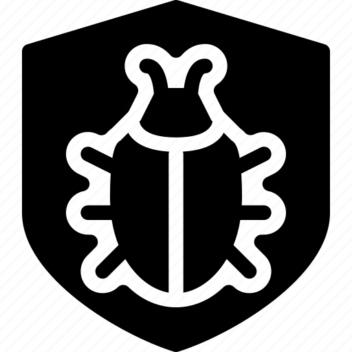 bug, protect, safety, security, shield icon