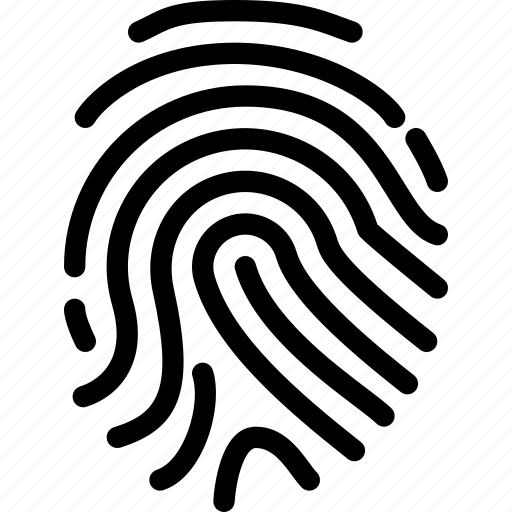 finger, gesture, hand, print, safe icon