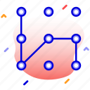 lock, pattern, pattern lock, security icon