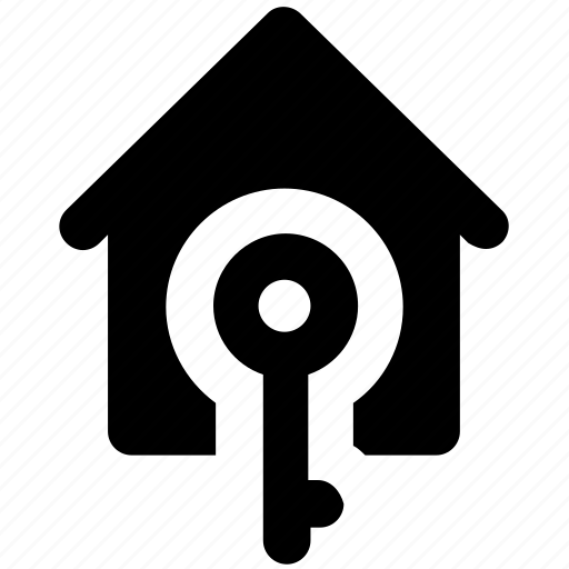 home, home investment, home ownership, insurance, key sign, property, real estate icon