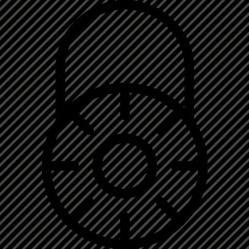 combination, lock, locked, locket, wheel icon