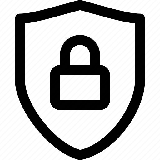 guard, protected, protection, secure, secured, shield icon