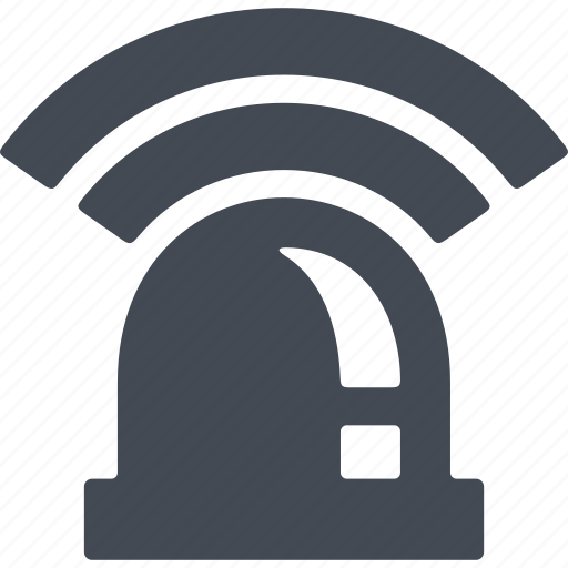 protection, reliability, security, signaling, surveillance system icon