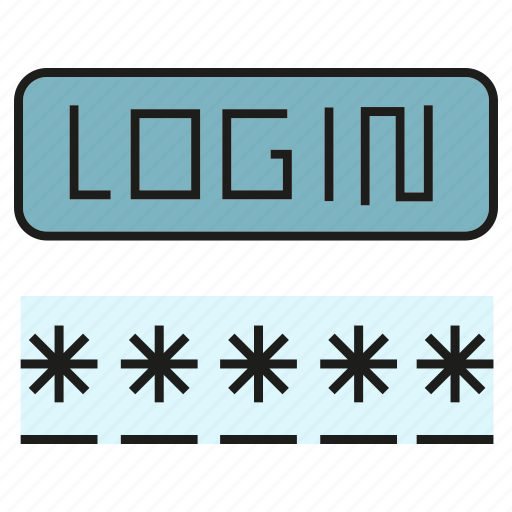 access, login, password, protect, security icon