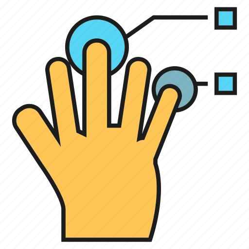 access, finger scan, hand, identity, seurity icon