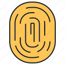 finger scan, identity, protect, scan, security, singularity, thumb icon