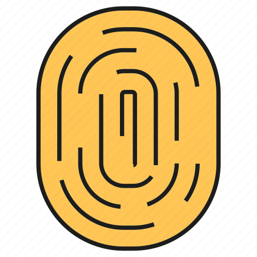 Protect, finger scan, scan, security, singularity, identity, thumb icon - Download