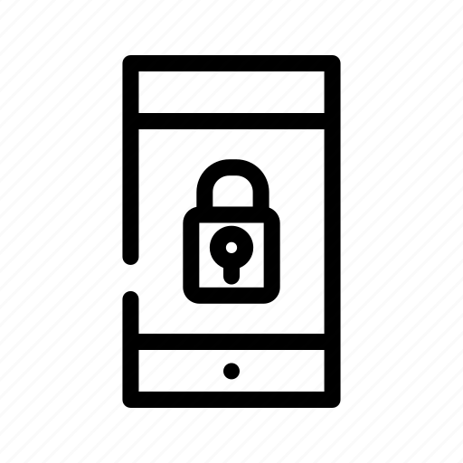 defender, lock, pin, protection, security, smartphone security icon