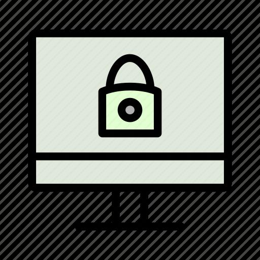 code, computer, lock, password, protect, security icon