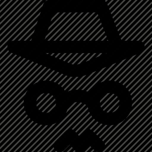 detective, hacker, spy, thief icon
