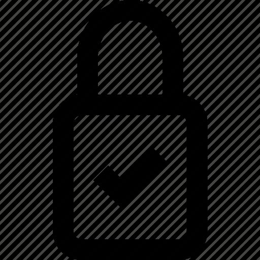 lock, locked, padlock, password, privacy, protection, security icon
