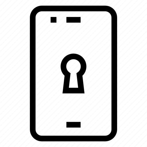 Lock, mobile, phone, protection, security icon - Download on Iconfinder