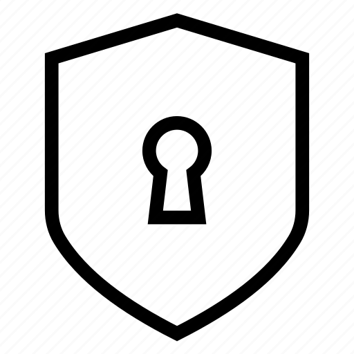 lock, protect, protection, security, shield icon