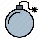bomb, detonation, explosive, security, weapons icon