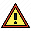 caution, danger, dangerous, warning icon