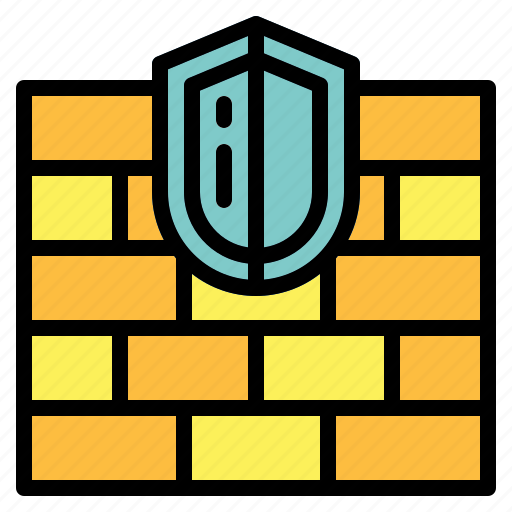 firewall, security, system, technology icon