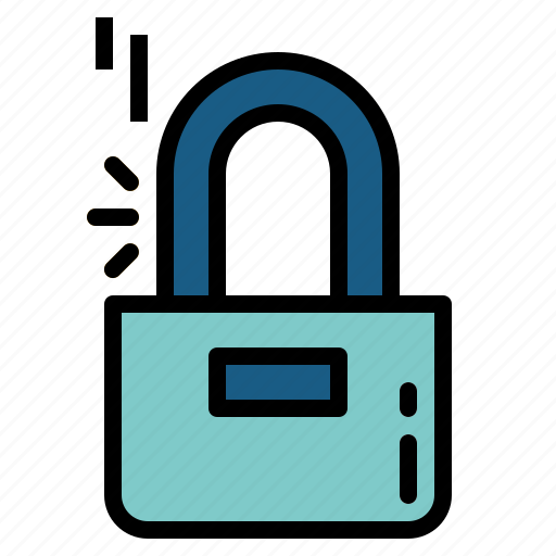 lock, locked, padlock, secure, security icon