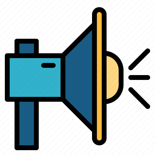 loudspeaker, megaphone, speaker icon