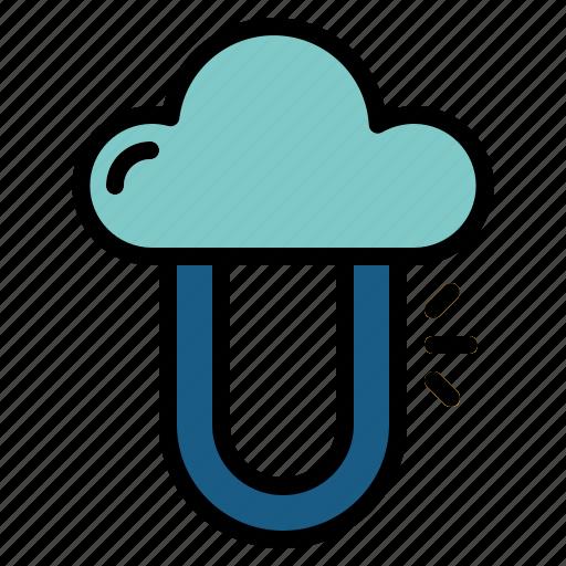 computing, data, private, protection, server icon