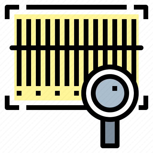 barcode, code, scan icon