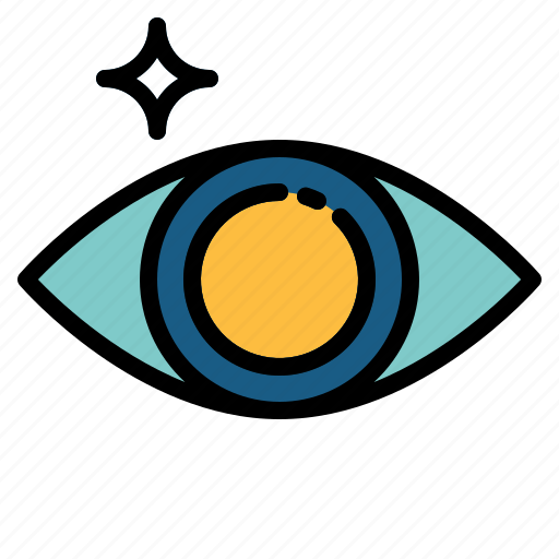 eye, look, view, visibility, visible icon