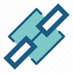 chain link, connection, link, linked icon