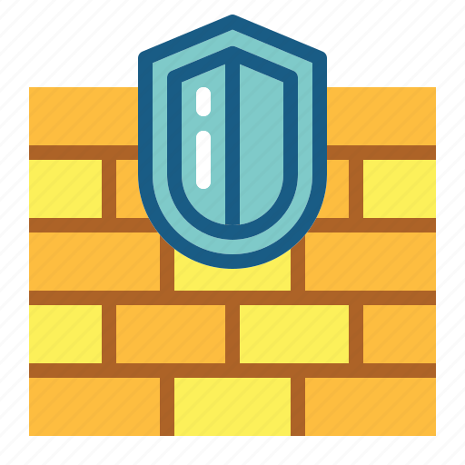 firewall, security icon
