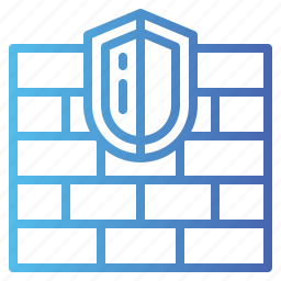 firewall, security, system icon