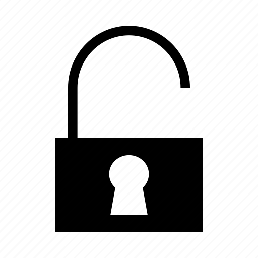 access, opened, protect, security, unlock icon