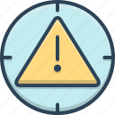 alert, expired, warning icon