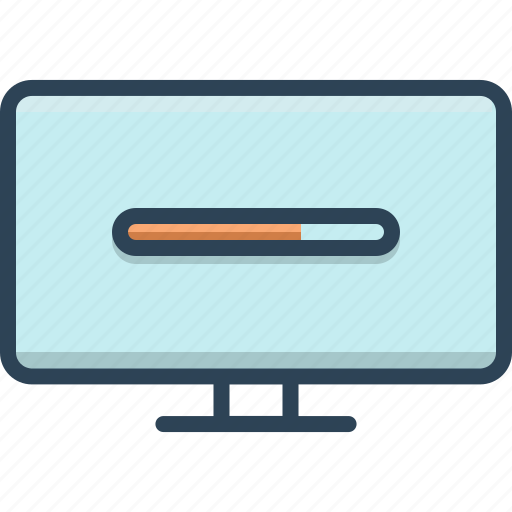 loader, loading, software, updater icon