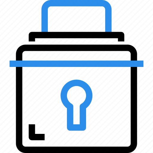 lock, padlock, protection, secure, security icon