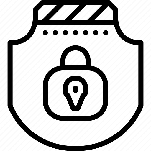 padlock, protect, protection, secure, security, shield icon