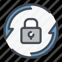 change, lock, padlock, password, protection, security, update
