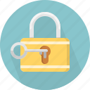 access, guard, key, keyhole, lock, protection, restrict icon