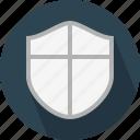 antispam, antivirus, badge, block threats, defense, firewall, protected icon