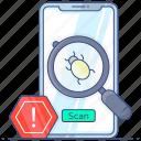 phone, virus, phone virus, mobile trojan, mobile virus, debugging, mobile malware