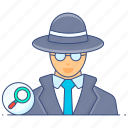 spy, secret agent, hacker, detective, spy agent