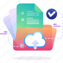 data, folder, cloud, document, file