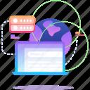 data, database, website, world