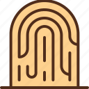 fingerprint, scan, security, sensor icon