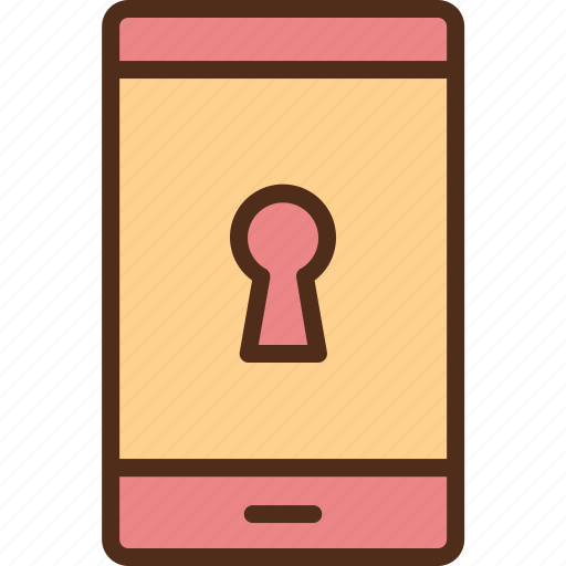 gadget, phone, protection, security, technology icon