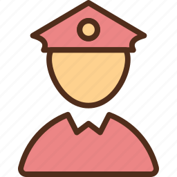 justice, man, police, protection, secure, security icon