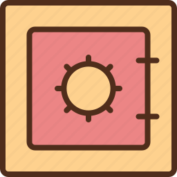 archive, document, privacy, protection, safebox icon