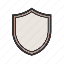 badge, frame, protection, security, shield, sign