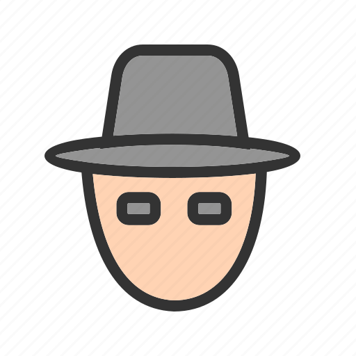 anonymous, hacker, hackers, mask, masked, robbery icon