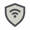 internet, network, protection, secure, security, shield, wifi