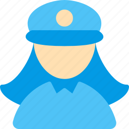 justice, police, protection, secure, security, woman icon